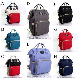FREE ONGKIR ANELLO Backpack Baby Store B189*