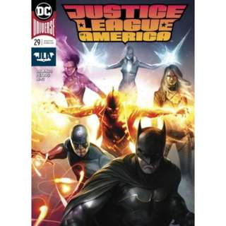 JUSTICE LEAGUE OF AMERICA #29 FRANCESCO MATTINA VARIANT