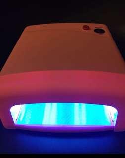 Nail polish infrared lamp