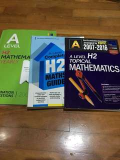 H2 alvl Math