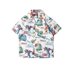 🚚 美式風格夏威夷印花襯衫 預購