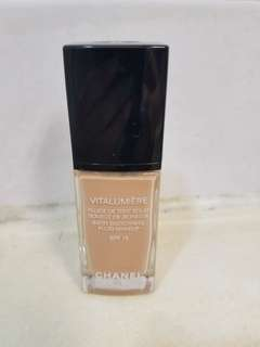 Chanel 粉底液 Satin Smoothing Fluid Makeup SPF15