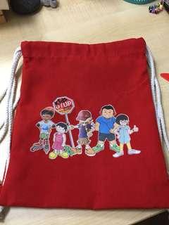 [To bless] Kids-Stop Drawstring Bag