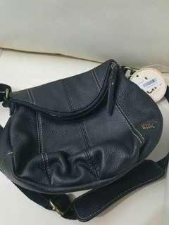 The Sak Leather Deena Flap Crossbody