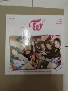 Twice the story begin no pc