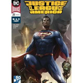 JUSTICE LEAGUE OF AMERICA #28 VARIANT