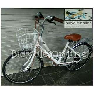 "Crolan 24"" City Bike *vintage design ☆ Shimano 7 Speeds ☆ Brand new Bicycles"
