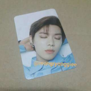 OFFICIAL NCT 2018 FAN PARTY YUTA PC (ready stock)