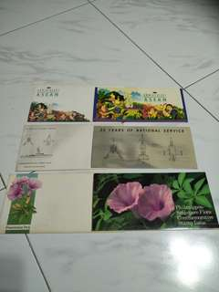 Sg 3 set of 1st cover stamp 3pc x $9=27