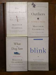 Malcolm Gladwell 4 Books Set Collection