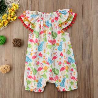 Kids Toddler Baby Girls Clothes Flower Romper Jumpsuit Outfits Sunsuit One-piece