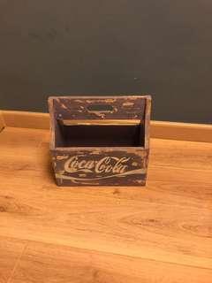 Vintage coca-cola milk crate
