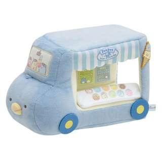 Sumikko Gurashi: Ice-cream Theme Blue Penguin Ice-cream Van + Mini Ice-cream Cone (Plush Set)