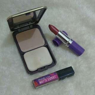 Bedak dan lipstick Mirabella