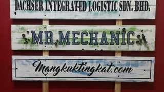 Custom Vintage Signs