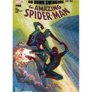 Amazing Spider-Man #798 Alex Ross Cover A NM. 1st app of Red Goblin