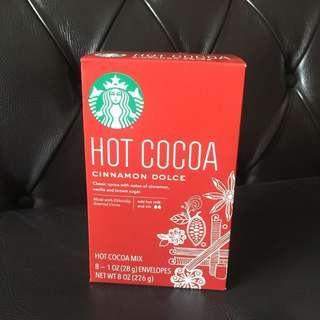 🚚 美國Starbucks 星巴克 熱可可粉(28g*8)~甜蜜肉桂口味