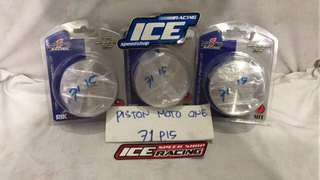 Piston moto1(71/p15)double ring casting