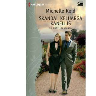 Ebook Skandal Keluarga Kanellis (The Kanellis Scandal) - Michelle Reid