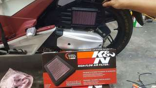 K&N AirFilter for Pcx150