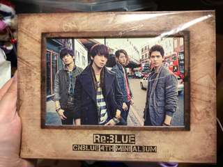 Cnblue Re:blue 4 th mini Album