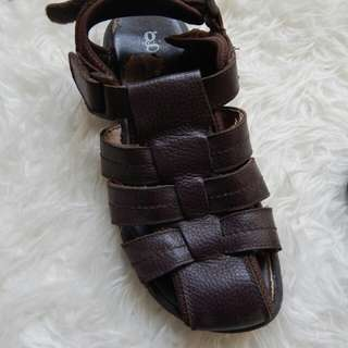 Sandal hush puppies leather murah