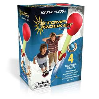 IN STOCK: The Original Stomp Rocket Ultra with Ultra Refill Pack