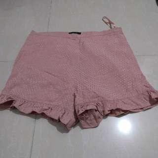 River Island Printed Ruffle Shorts