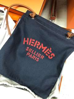 Hermes 帆布袋