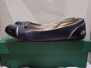 Lacoste black shoes