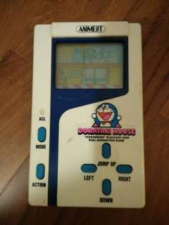 VINTAGE AND RARE! 1983 Doraemon Handheld Dorayaki House Game