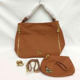 Authentic Dior bag with pouch