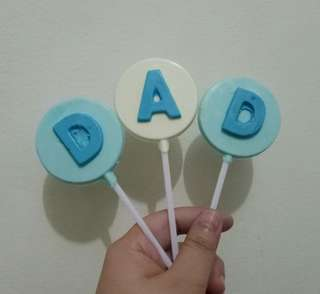 Father's Day Chocolate Lollipop Set