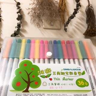 🚚 彩色筆36色😛只使用過1次喔便宜售出