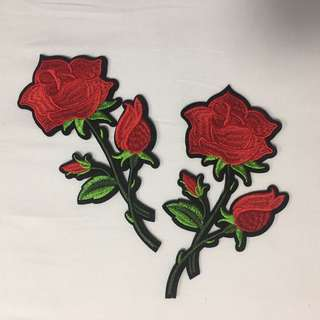 Iron On Patches Rose