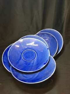 GBH porcelain saucers for sale