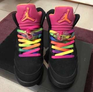 🚚 Jordan 佛羅里達款 5代絕版女鞋