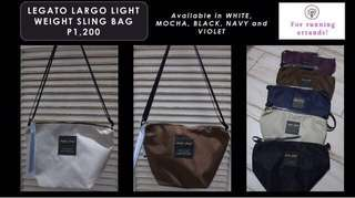 Legato Largo Lightweight Sling Bag Authentic from Japan!