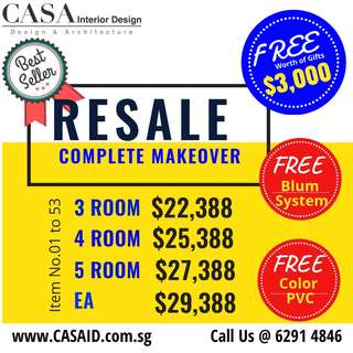 Resale Complete Makeover Renovation Package