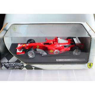 HOT WHEELS RACING FERRARI F248 F1 2006 MICHAEL SCHUMACHER 1/18