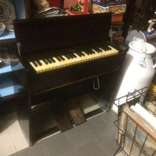 Vintage Foot Pump Organ