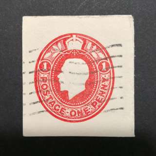 GB King Edward VII embossed - One Penny Red