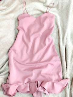 elegant flutter dress