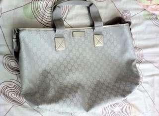 Gucci silver big bag (price down)
