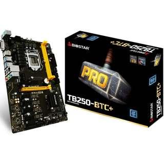 BIOSTAR TB250-BTC+ Motherboard