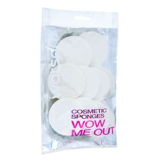 Cosmetic sponges: 10 piece pack