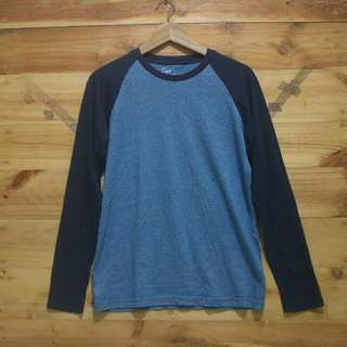 Giordano longsleeve shirt original like New
