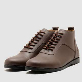 Brodo – Toraja Brown Black Sole – Size 42