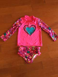 Girls 2 piece swim suit - children's place