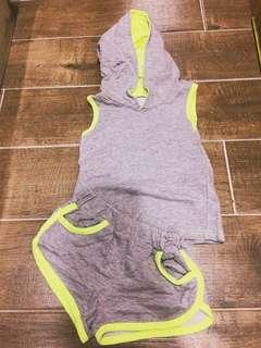 🚚 二手韓國小男女孩運動套裝